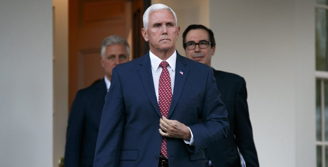 United States Vice President Mike Pence Arrives In Ankara To Seek Peace In Northern Syria