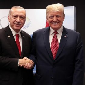Donald Trump And Turkish President Announces Washington Talks On November 13