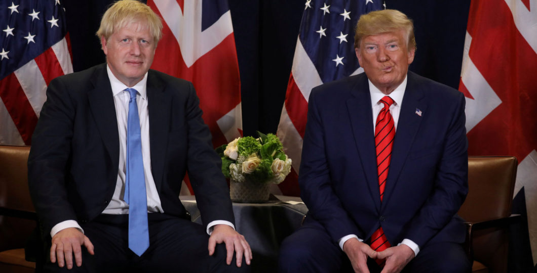 President Trump Condemns British Prime Minister Boris Johnson's Brexit Divorce Deal
