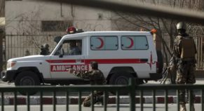 9 students were killed in a bomb blast at an Afghan religious school