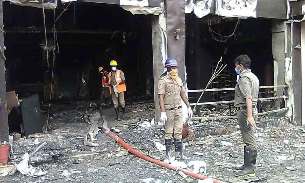 At least 9 people killed in a Covid-19 facility in Andhra