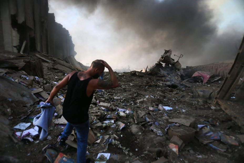 Catastrophic Explosion at Beirut port tore the Capital apart