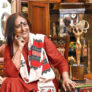 Eminent fashion designer Sarbari Dutta found dead at her home.
