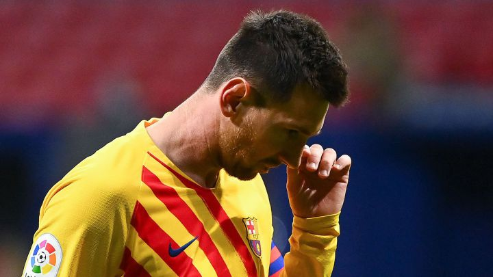 Messi rested for Tuesday's Champions League trip to Dynamo Kyiv