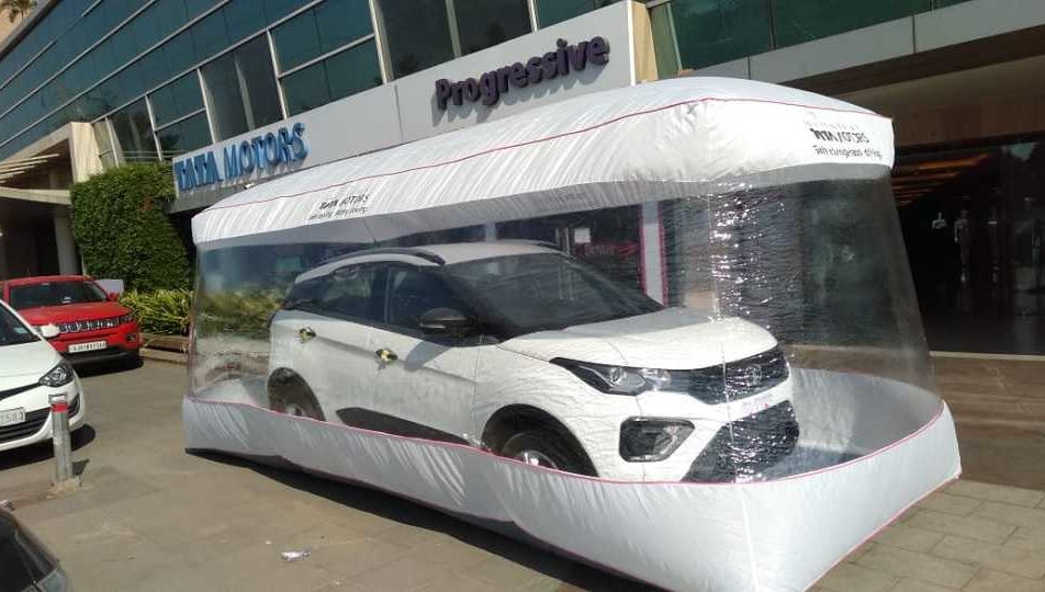 Tata Motors has gone an extra mile on safety with a 'bubble wrap'