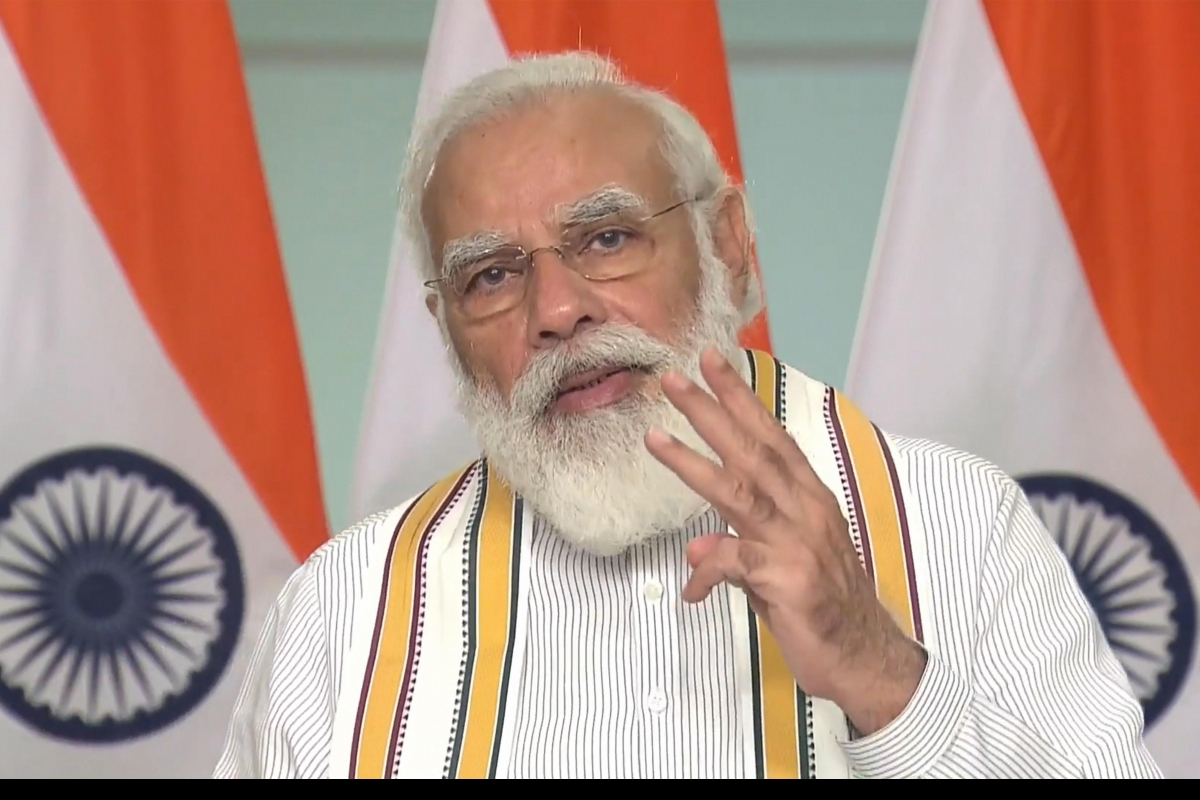PM defends farmers amid protest
