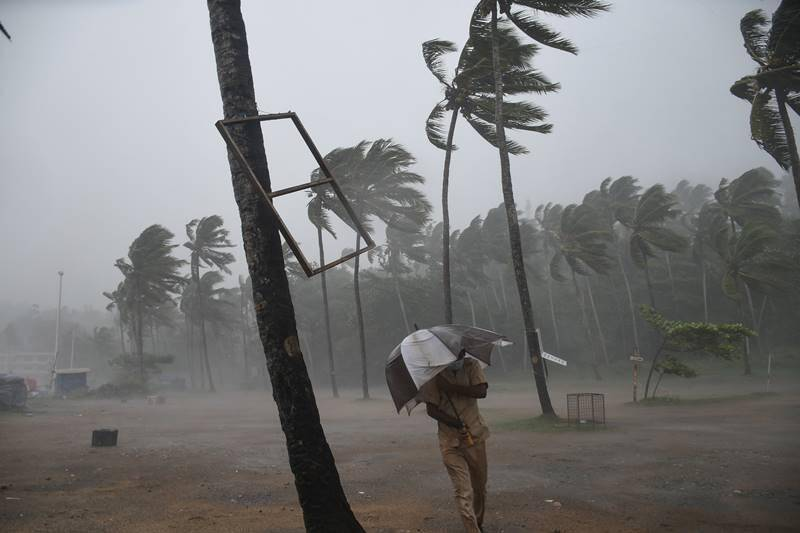Cyclone Tauktae slams on West Coast intensified into a very severe cyclonic storm.