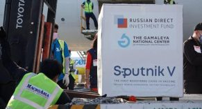 The Second Batch of Russian Sputnik V reaches Hyderabad